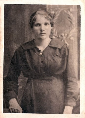 prababcia Marianna Machejek ..jeszcze wtedy Ostrowska czyli przed 1922 r